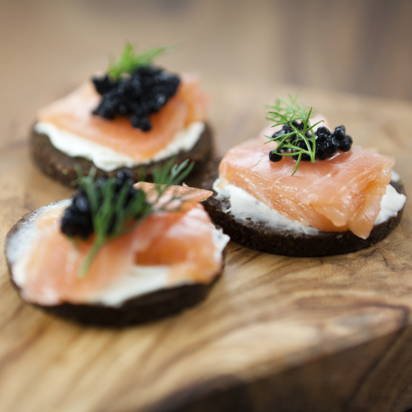 christmas smoked salmon and caviar canap s chefs 39 blog